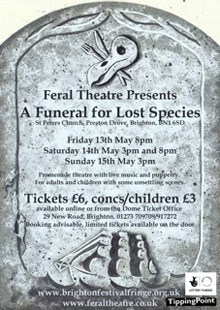 funeral for lost species